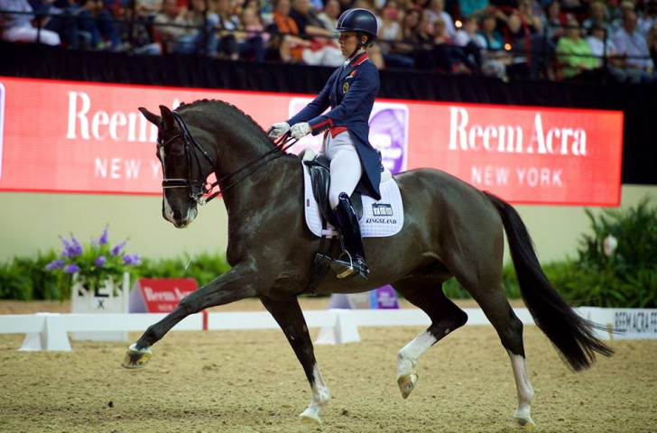 Dujardin and valegro secure second consecutive fei world for Dujardin 94