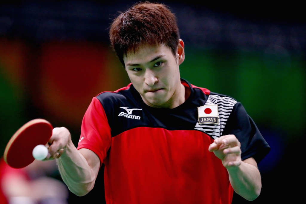 Japan's Yuya Oshima has been awarded a walkover victory over China's Ma Long ©Getty Images