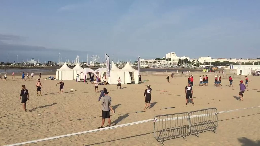 Action at the event in Royan is due to conclude tomorrow ©WCBU