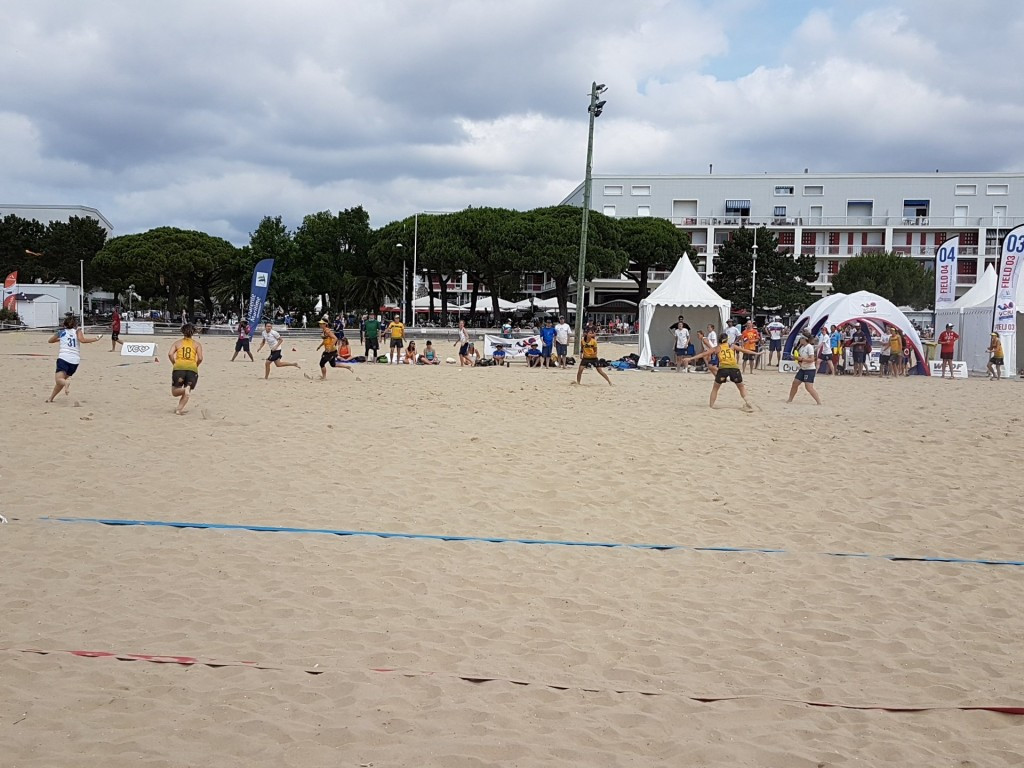 Russia and United States reach women's final at World Championships of Beach Ultimate