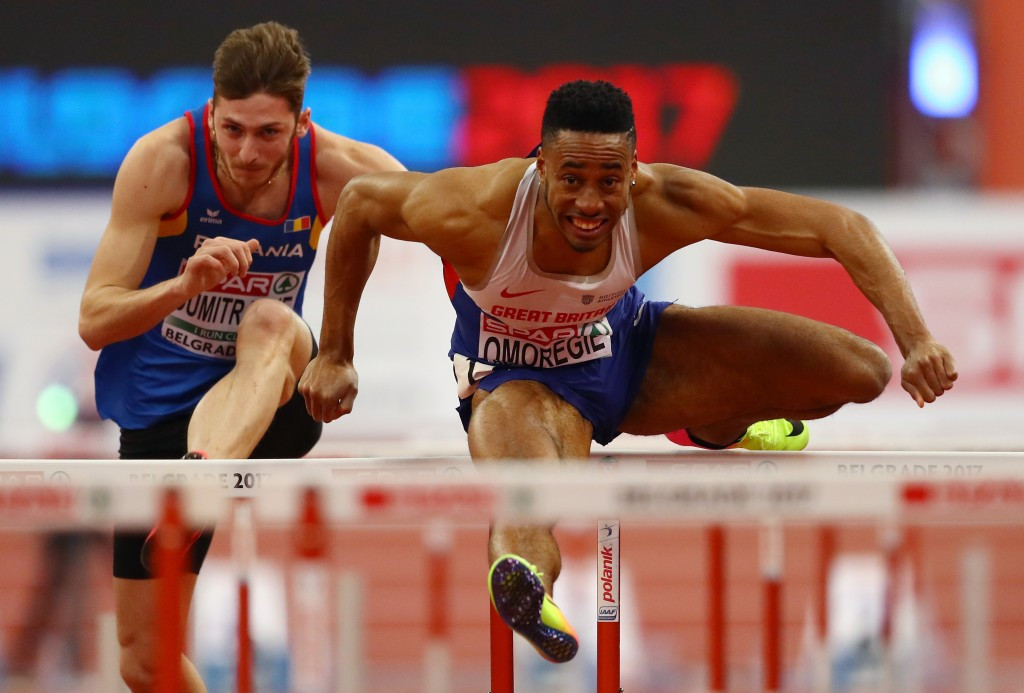 Omoregie lays down challenge to Olympic silver medallist Ortega in Lille