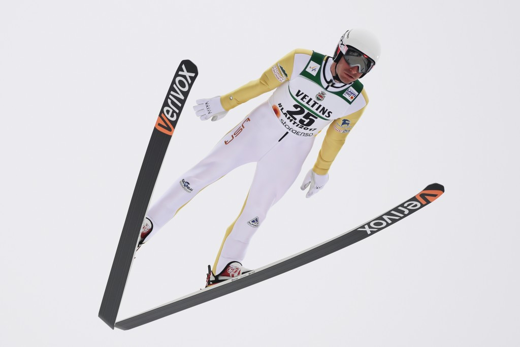 Taylor Fletcher has been selected on the Nordic combined squad ©Getty Images