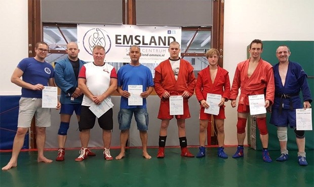 First sambo instructor certificates handed out in The Netherlands