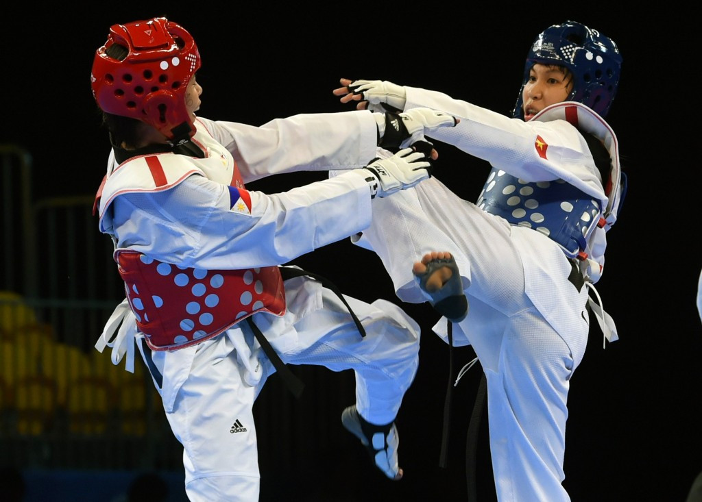 Vietnam's Thi Kim Tuyen Truong is through to the women's 46kg semi-finals ©Getty Images