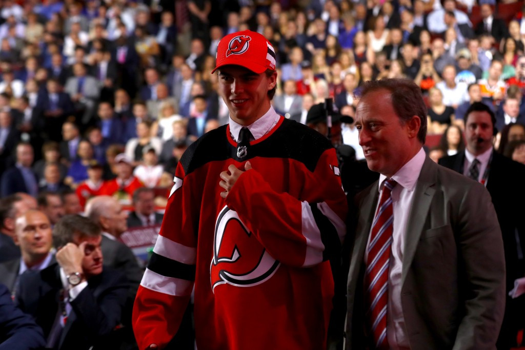Swiss youth international Hischier makes NHL Draft history