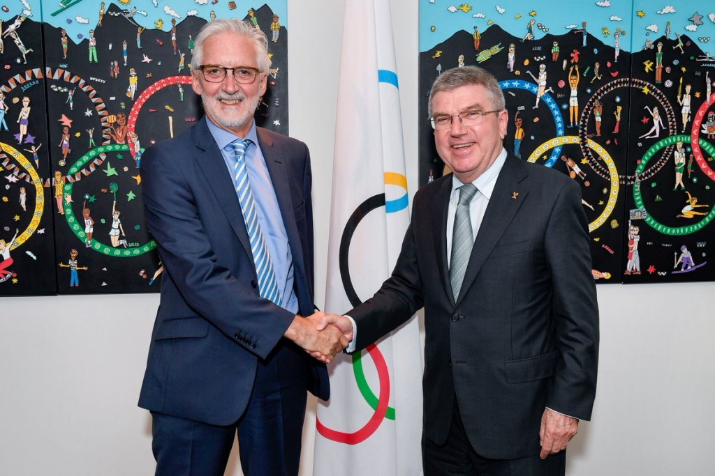 Brian Cookson has stated the UCI will assist the IOC to establish the Independent Testing Authority ©IOC