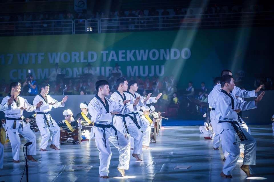 Several taekwondo performances took place as part of the Opening Ceremony ©World Taekwondo