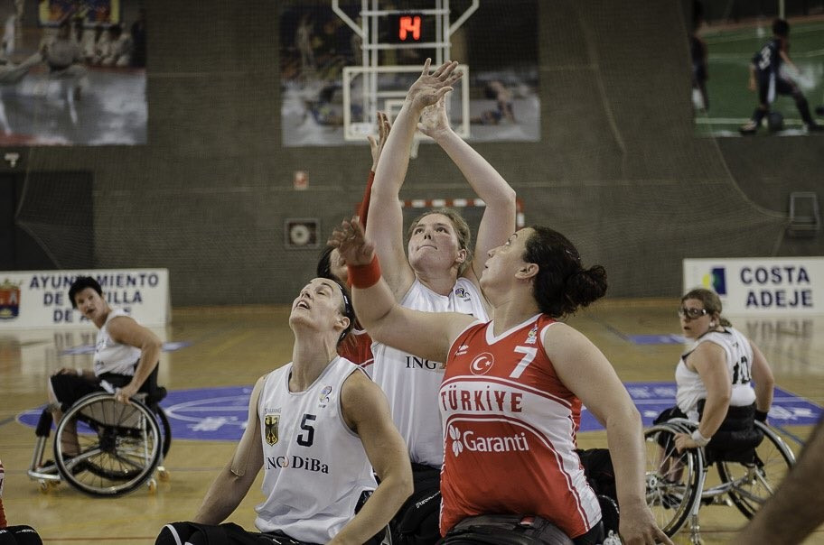 Netherlands and Germany head women's standings at IWBF European Championships