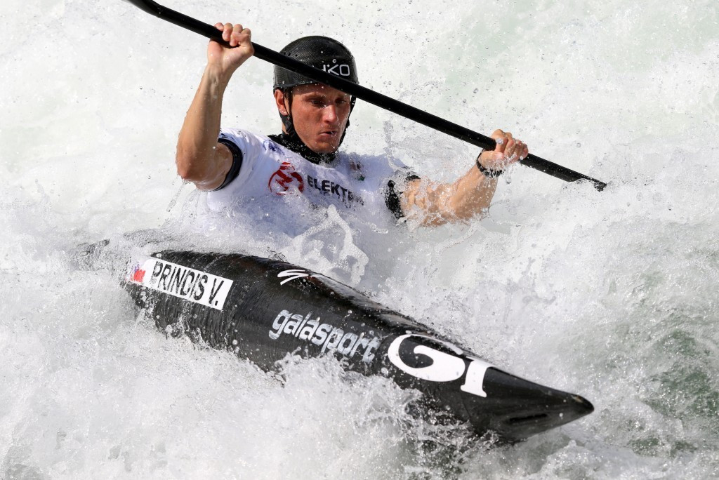 Prindis claims second successive ICF Canoe Slalom World Cup win