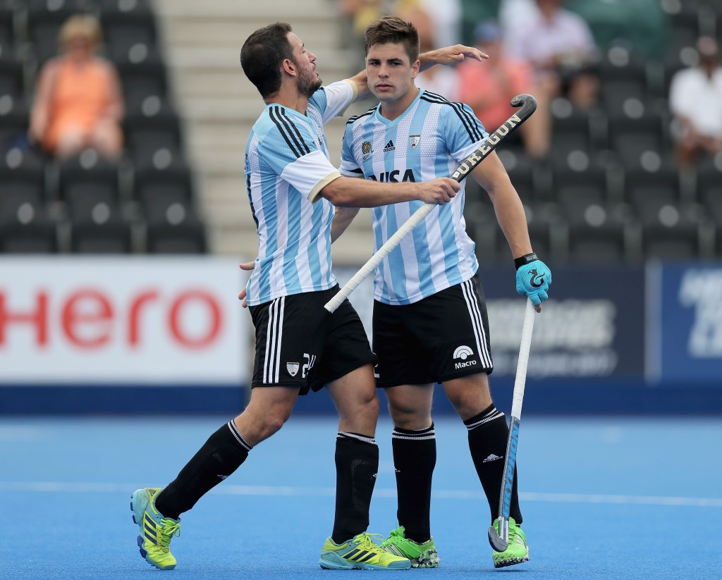 Argentina and Netherlands set up showdown at Hockey World League semi-final