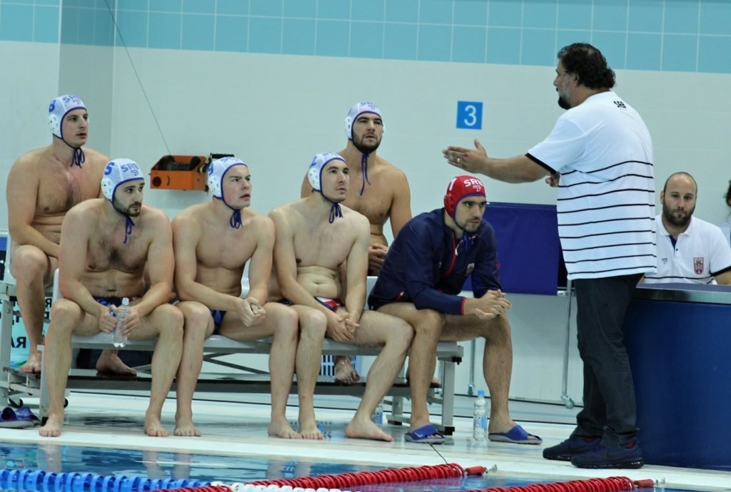 Serbia are through to the Men's Water Polo World League Super Final ©FINA