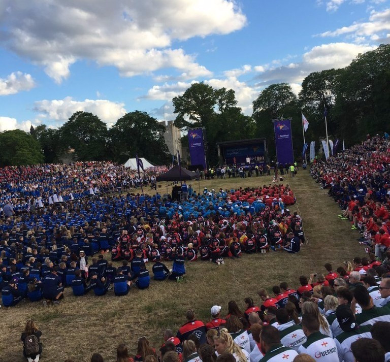 Island Games begin with Opening Ceremony