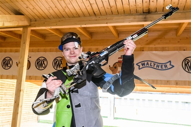 Friman wins shoot-off to claim first gold medal at ISSF Junior World Championships