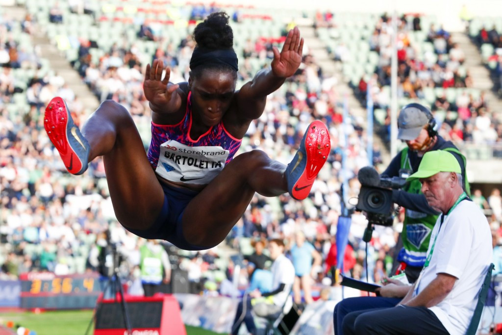 Bartoletta and Reese have heavyweight long jump clash at USATF Trials