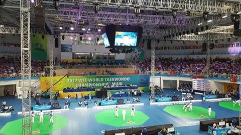 World Taekwondo Championships: Day two of competition