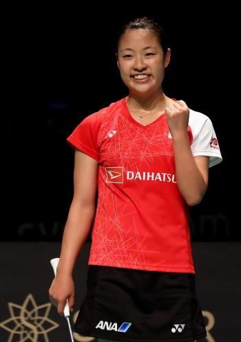 Nozomi Okuhara beat Akane Yamaguchi in an all-Japanese women's singles final ©BWF