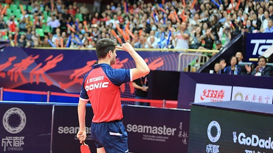 Dimitrij Ovtcharov became Germany's first winner of the ITTF China Open title in 11 years today ©ITTF