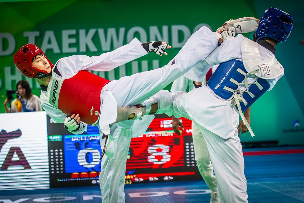World Taekwondo Championships: Day two of competition