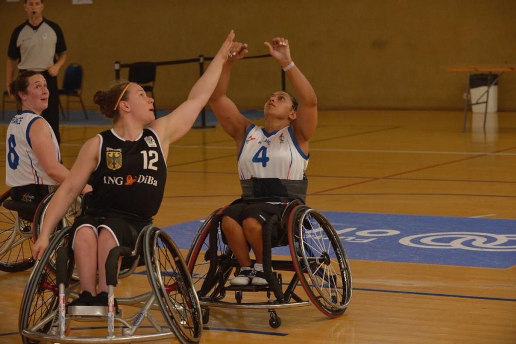 Germany thrash France at IWBF European Championships