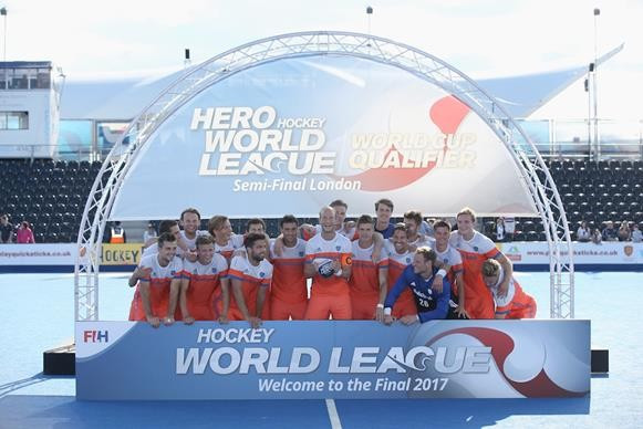Netherlands thrash Olympic champions to win Hockey World League semi-final