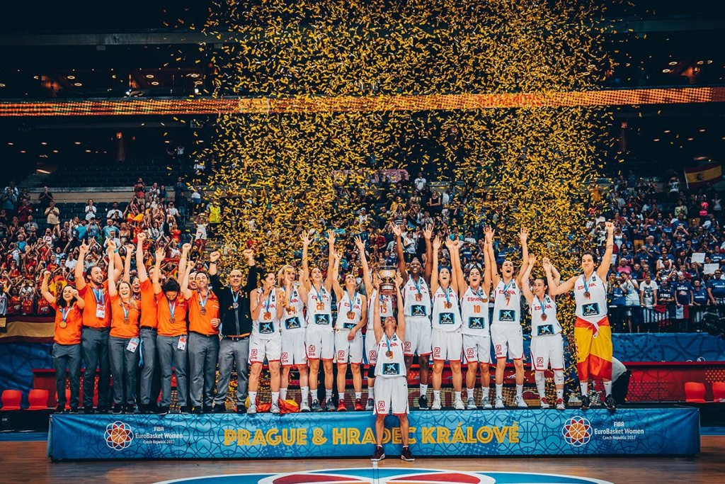 Spain crowned EuroBasket Women champions