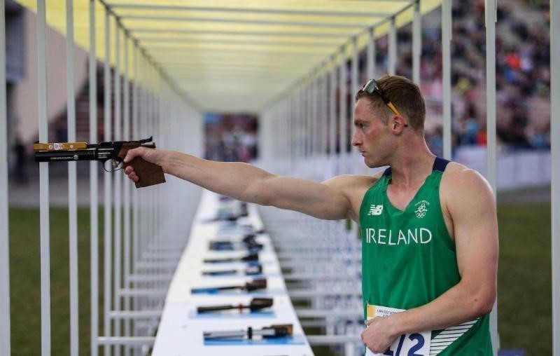 Ireland defended their mixed relay title in Lithuania ©UIPM