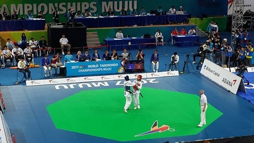 World Taekwondo Championships: Day three of competition