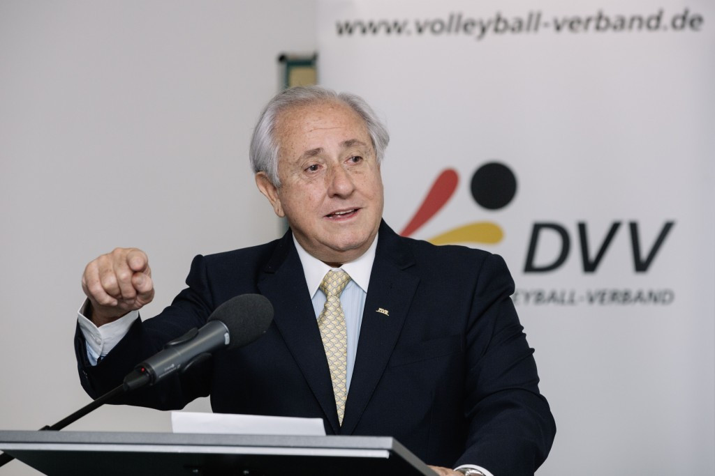 FIVB President looks to the future of volleyball with Nucleus Project