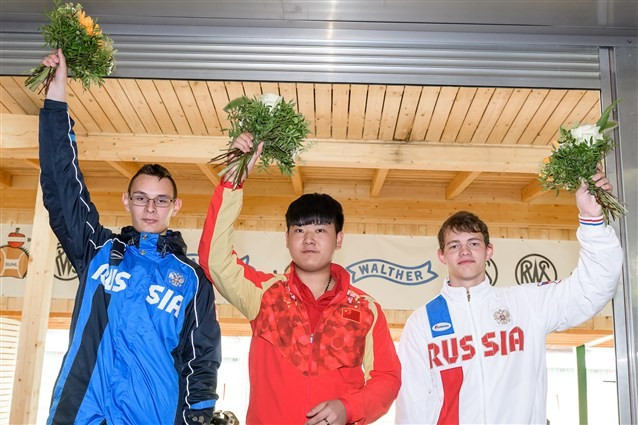 Wang in record-breaking form on way to gold medal at ISSF Junior World Championships