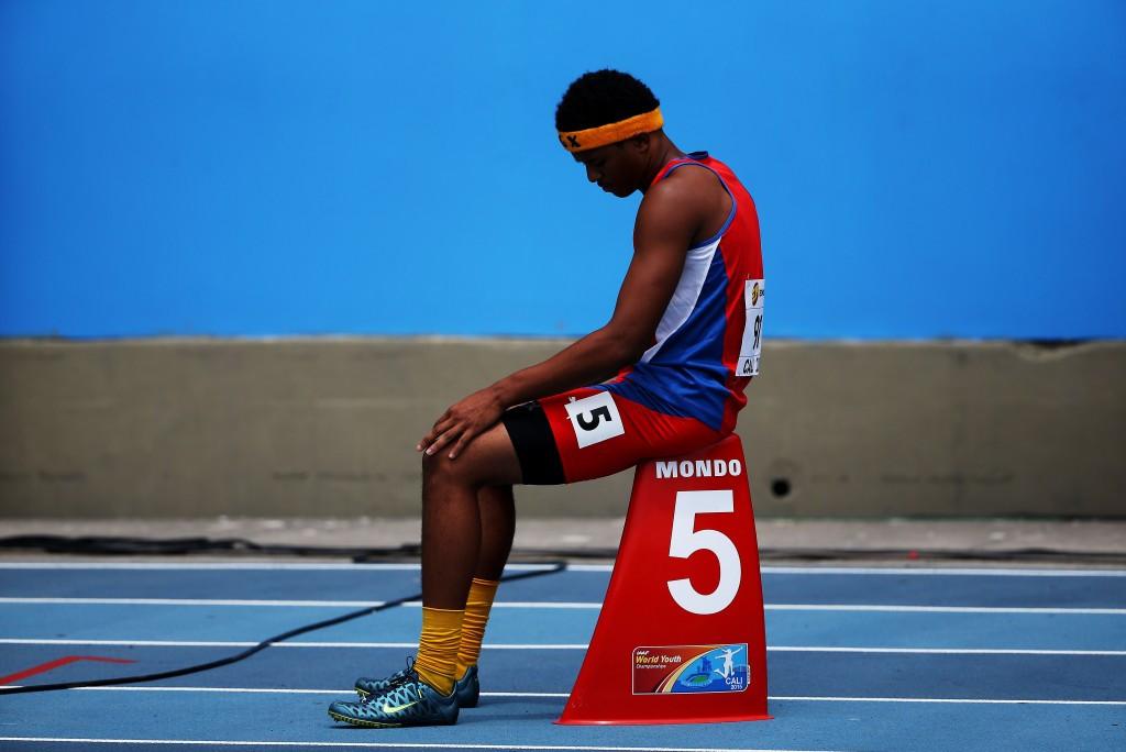 Jamal Walton won the men's 200m title today ©Getty Images
