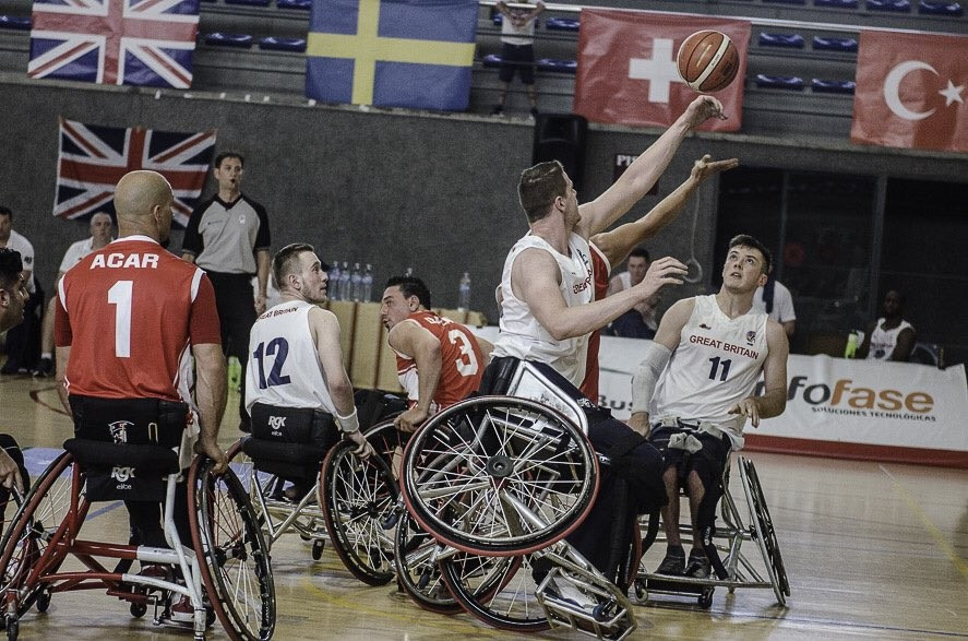 Defending champions through to last eight of IWBF European Championships