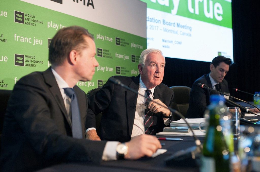 WADA President Sir Craig Reedie said resuming testing was a key requirement on RUSADA's path to recompliance ©Getty Images