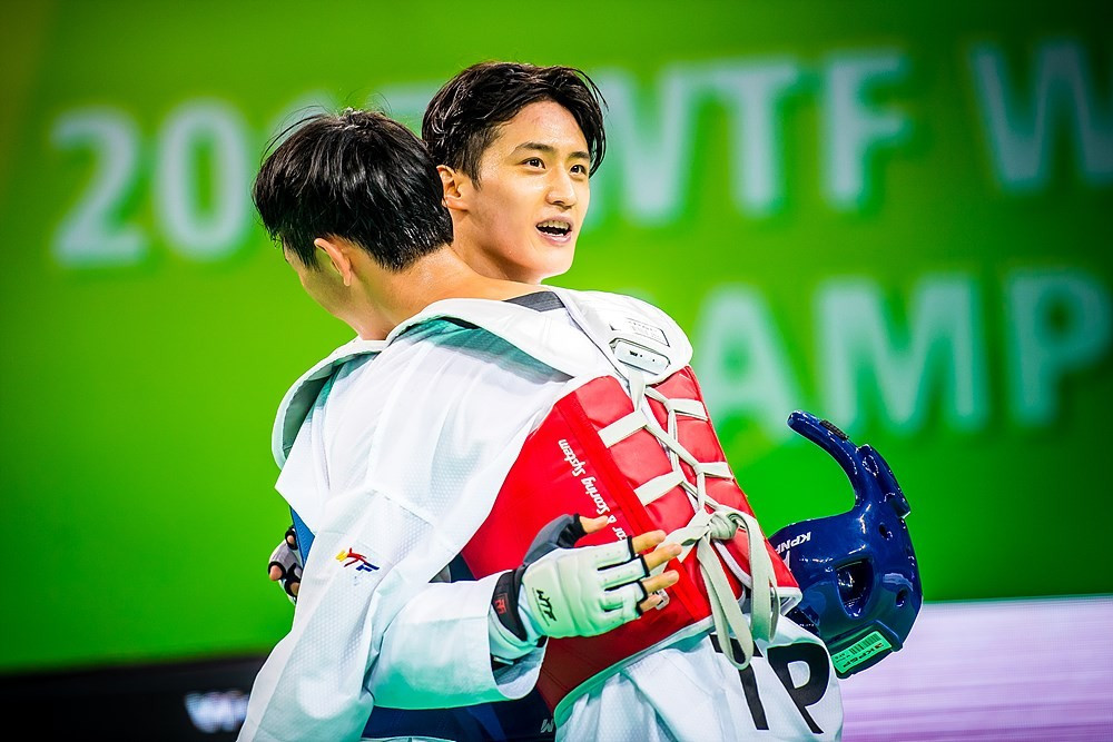 South Korea's Lee Dae-hoon claimed his third World Taekwondo Championship title in front of a home crowd in Muju today ©World Taekwondo