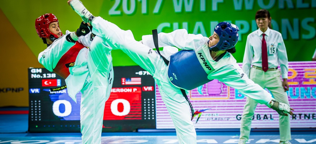 World Taekwondo Championships: Day four of competition