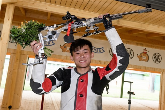 First ISSF Junior World Championships title won by China's Liu