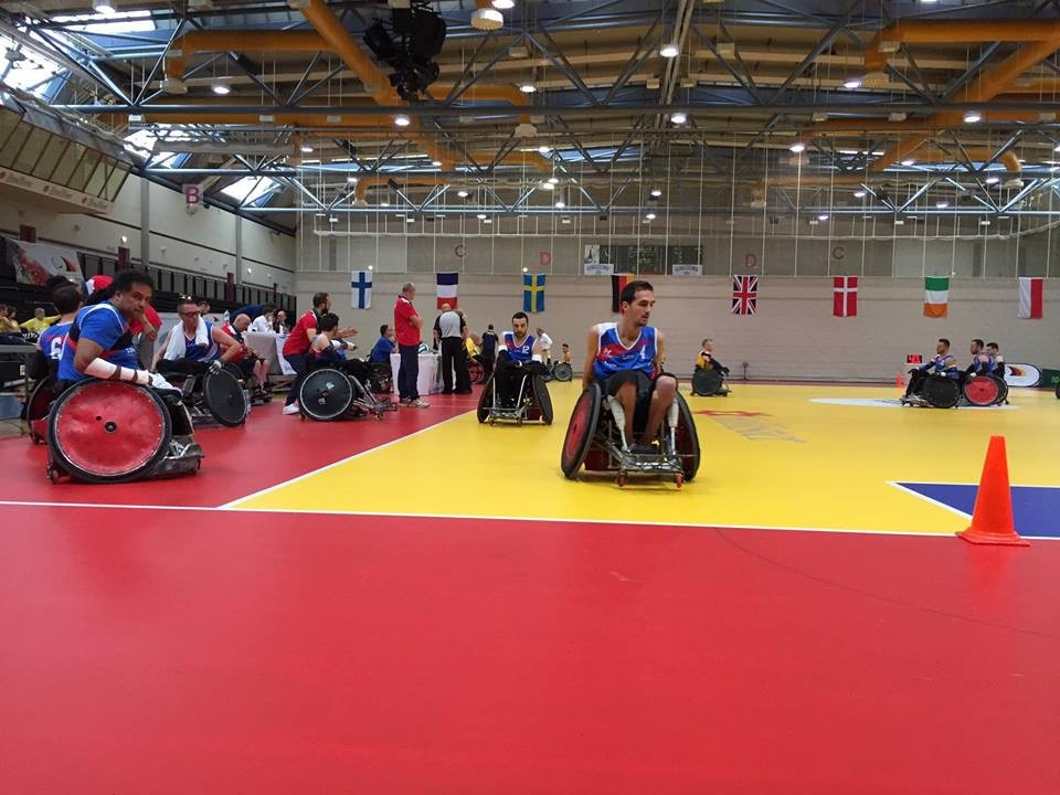 Sweden defeated France 48-47 during an entertaining opening match at the tournament ©IWRF