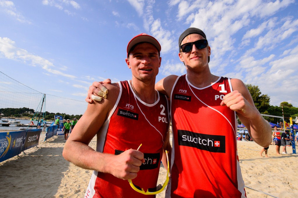 Rudol gets birthday treat with FIVB Beach World Tour qualification success