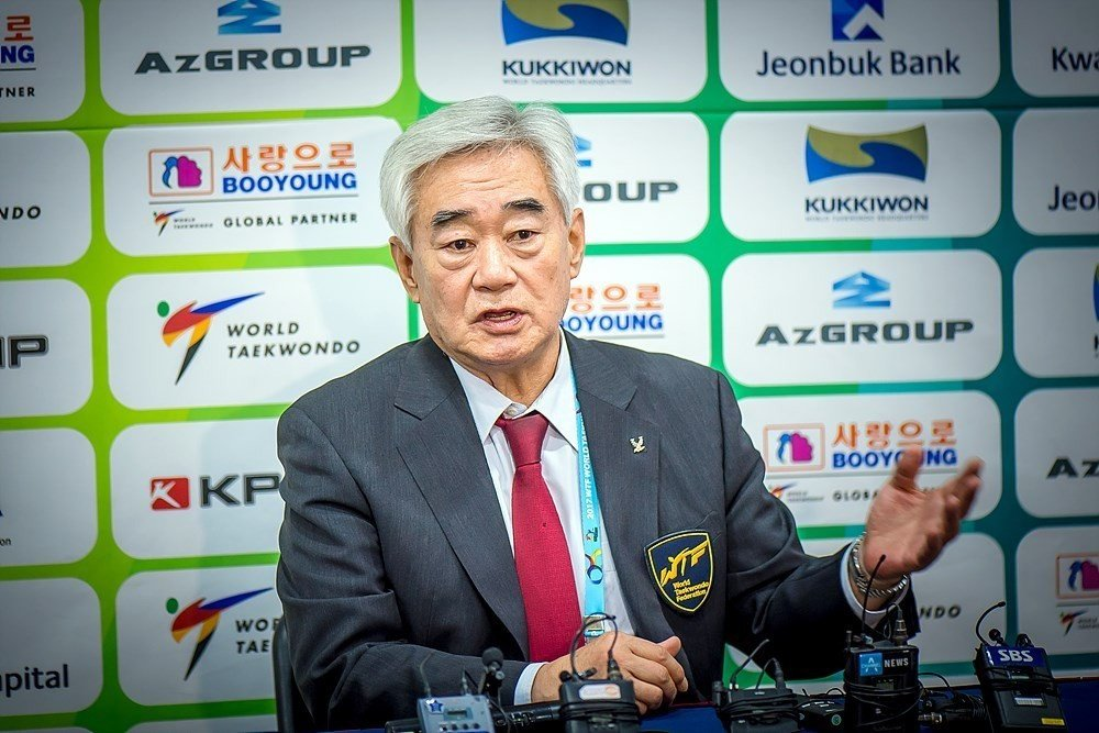 World Taekwondo President Chungwon Choue launched the project in 2015 ©World Taekwondo