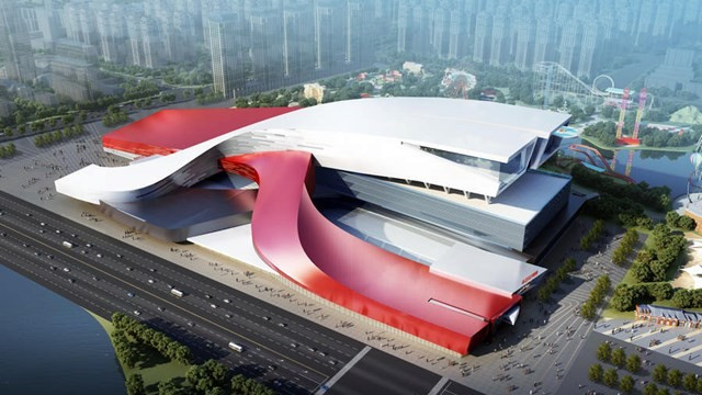 Venue housing world's largest indoor ski slope set to open in Harbin