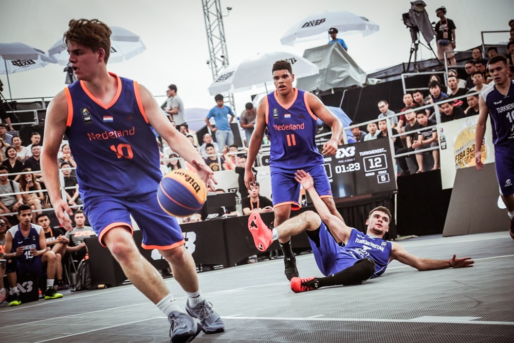 Dutch claim two victories in men's event at FIBA 3x3 Under-18 World Cup