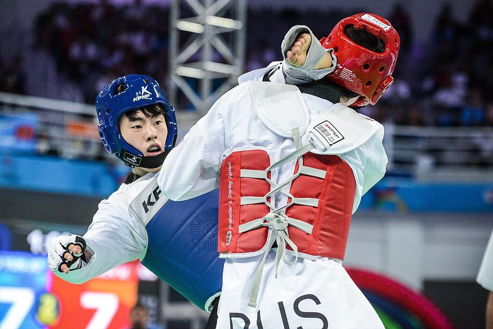 Jeong Yun-Jo increased hosts South Korea's gold medal tally for the event to four ©World Taekwondo