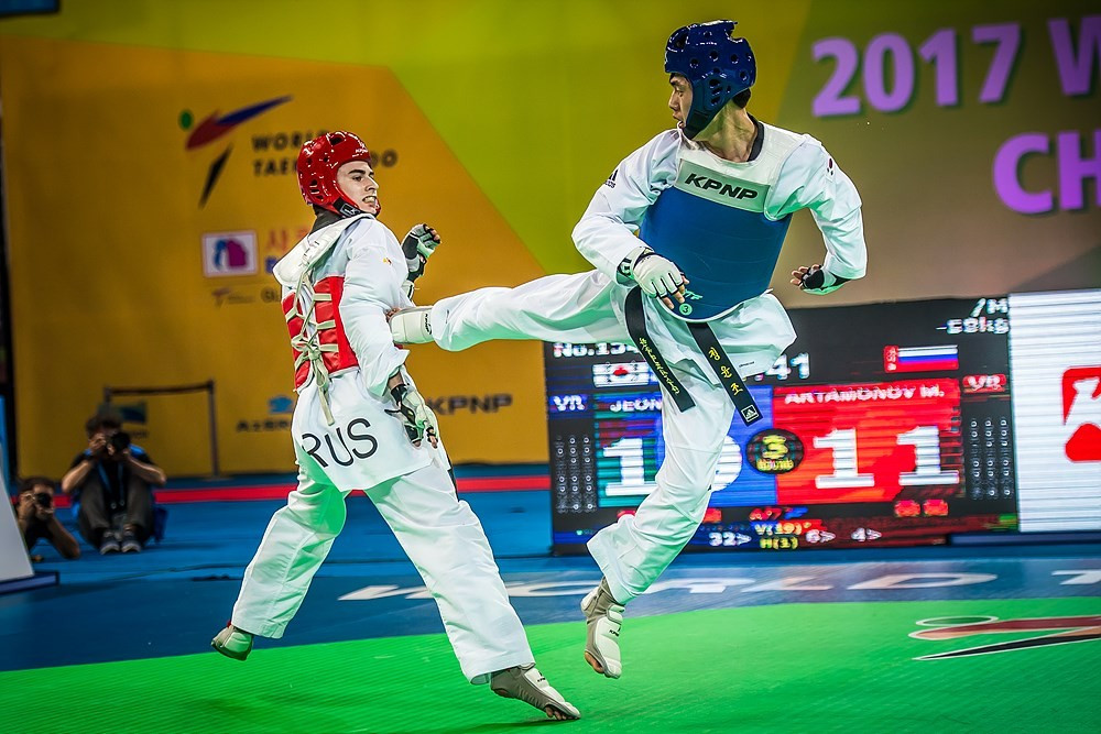World Taekwondo Championships: Day five of competition