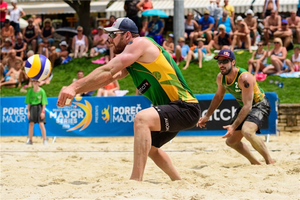 Reigning champions win opening match of FIVB World Tour event in Poreč