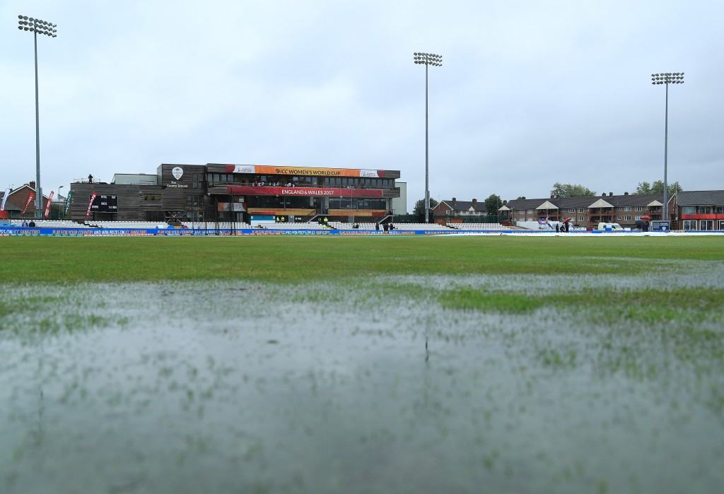 Match between New Zealand and South Africa at ICC Women's World Cup abandoned due to rain