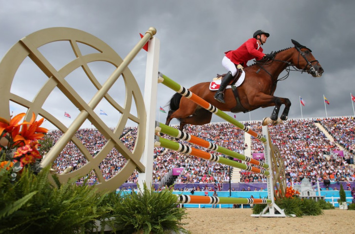 Olympic showjumping champion provisionally banned after two horses return failed doping tests