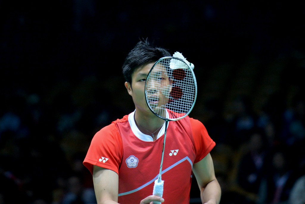 Chou Tien Chen advanced from his second round match ©Getty Images