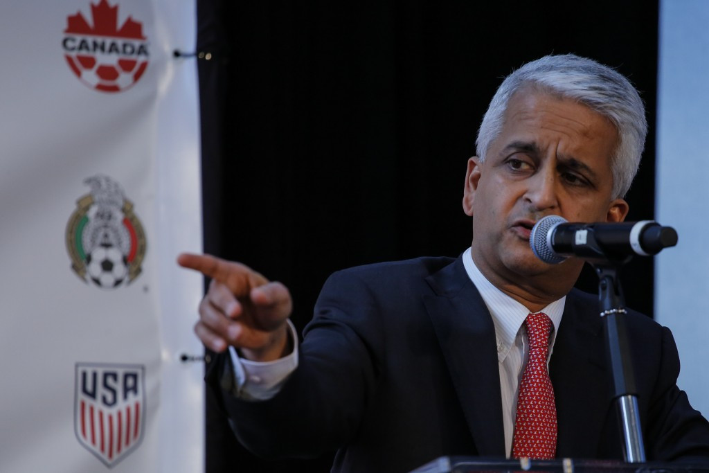 Sunil Gulati, who led the United States' 2022 World Cup bid, was not a supporter of plans to increase the decision making process for future tournaments ©Getty Images