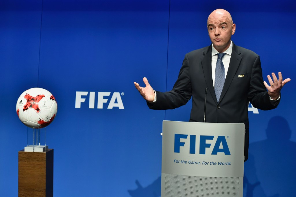 FIFA President Gianni Infantino, who replaced Sepp Blatter, has overseen the introduction of a 48-team World Cup ©Getty Images