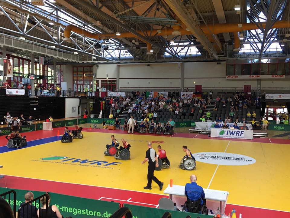 Sweden defeated Germany in this evening's final match ©IWRF