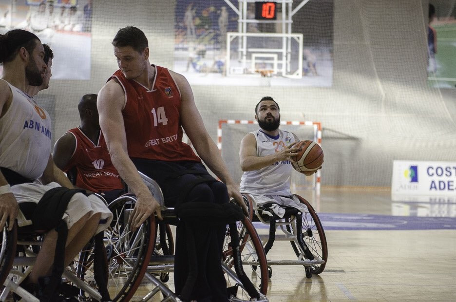 Britain move step closer to fourth consecutive men's IWBF European Championships title